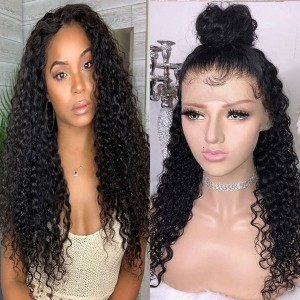 Eva Hair 130 density 13X4 Pre Plucked Lace Front Wig Brazilian Human Hair Wigs With Baby Hair【025】