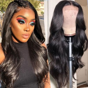 Eva Hair 180% Density Pre Plucked Brazilian Human Hair 360 Lace Frontal Wig Body Wave With Baby Hair Bleachd Knots【W082】