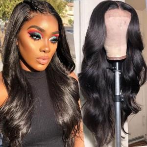 Eva Hair 150 Density 13X6 Lace Front Human Hair Wigs Pre Plucked Brazilian Body Wave 【W132】