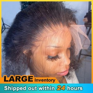 Silky Straight Lace Closure 4x4 & 5x5 HD Human Hair Swiss Lace Closure Transparent Middle Free Three Part Top Closures【H029】