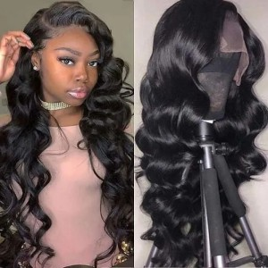 Eva Hair 2019 New 150 Density Brazilian Loose Wave Hair 370 Lace Front Human Wigs【W154】