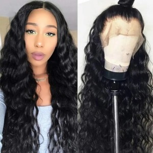 26-34 Inches Eva Hair 150 Density 13x6 Brazilian Pre Plucked Body Wave Lace Front Wigs Bleached Knots With Baby Hair【H007】