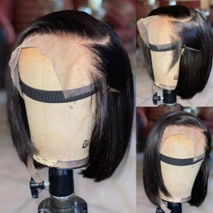 Split  Payments Available!!  Show Bae how you coming Today! 13x6 Lace Front Silky Straight Bob wig.【W176】