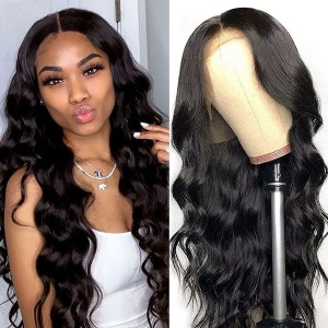 Eva Hair 150% Density Full Lace Wigs Body Wave Brazilian Hair【Y111】