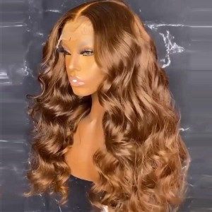 Laid Lace & Baby hairs. Eva Medium Brown Color 13x6  Wigs 【T072】
