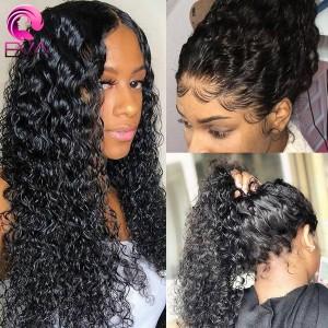 Eva Hair 150% Density Full Lace Human Hair Wigs Brazilian Hair Curly With Baby Hair (Y55)