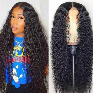 Eva Hair 180 Density Pre Plucked Brazilian Human Remy Hair 360 Lace Frontal Wig With Baby Hair Bleached Knots【W088】
