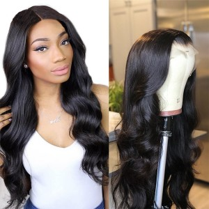 Eva Hair Pre Plucked 180% Density Brazilian Remy Hair Wave 360 Lace Frontal Wigs Bleached Knots With Baby Hair【Y118】