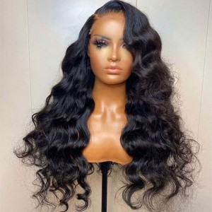 Eva Hair HD Lace Wig 150 Density 13x6 Brazilian Curly Lace Front Human Hair Wigs Pre Plucked 【W081】