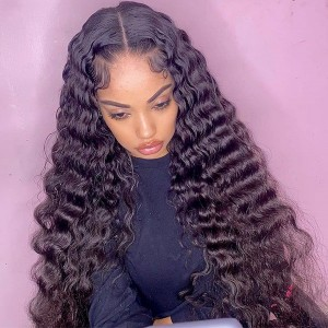 Tried our Luxury Deep Sassy Wave?13x6 Lace Front Wigs Pre Plucked Hairline Swiss Lace. Make your look complete this summer! 【W156】
