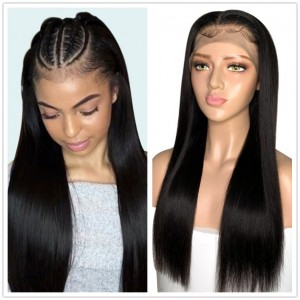 Eva Hair 130 Density 13X4 Brazilian Straight Lace Front Human Hair Wigs【W179】