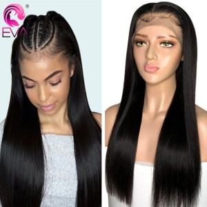 Eva Hair 2019 New Brazilian Straight 370 Lace Human Hair Wigs 150 Density【W181】