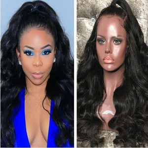 Eva Hair 360 Lace frontal Human Hair Wig Body Wave Brazilian Hair With Baby Hair 180% Density【Y068】