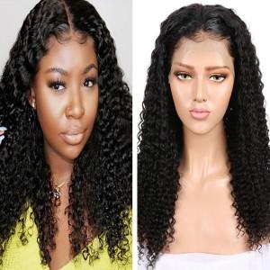 Eva Hair 360 Lace Frontal Wigs 180% Density Curly Hair【Y090】