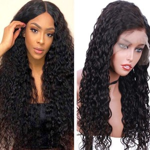 Eva Hair 180% Density Brazilian Hair Curly 360 Lace Frontal Wigs【Y113】