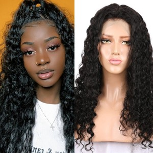 Eva Hair 150% Density Brazilian Hair Wavy 360 Lace Frontal Wigs 【Y119】