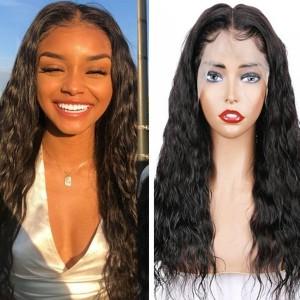 Eva Hair 150% Density Silk Base Brazilian Wave Hair 13x6 Lace Front Wigs【Y135】