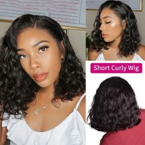 Eva Hair 360 Lace Frontal Human Hair Bob Wigs 150% Density With Baby Hair【Y083】