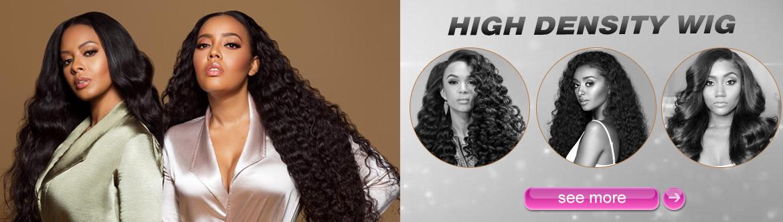 high-density wig