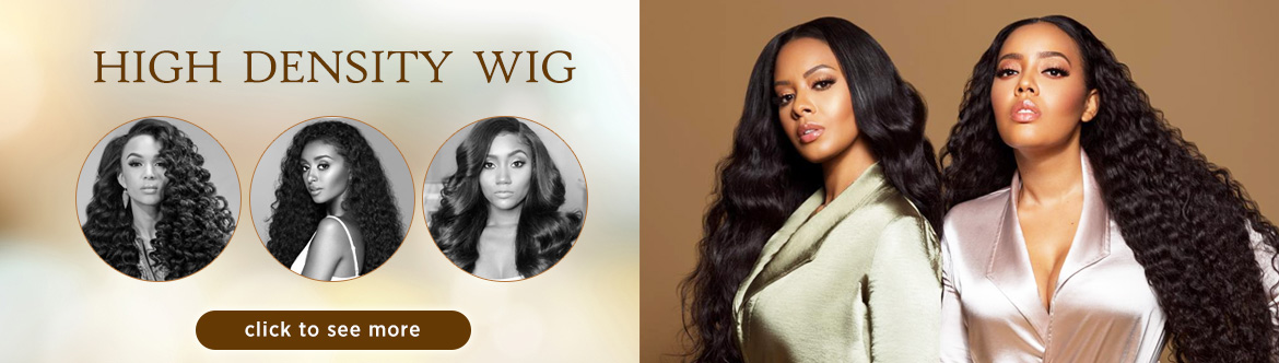 high density lace wig